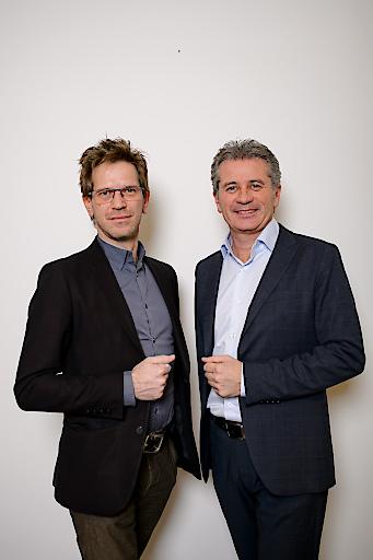 Gerd Leiter und Markus Galli (v.l.)