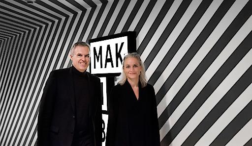 Christoph Thun-Hohenstein, Generaldirektor und wissenschaftlicher Geschäftsführer, MAK, und Teresa Mitterlehner-Marchesani, Wirtschaftliche Geschäftsführerin, MAK, 2017