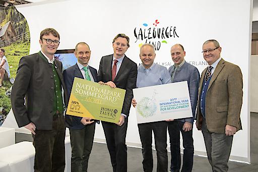 Viele neue und innovative Projekte für einen erfolgreichen Nationalpark-Sommer 2017 wurden von den Vertretern der Ferienregion Nationalpark Hohe Tauern auf der Ferienmesse in Wien vorgestellt.