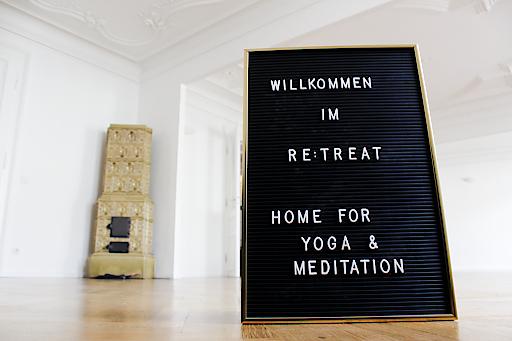 Das Yogastudio RE:TREAT, das am 13. Jänner seine Pforten öffnet, denkt Yoga und Meditation neu.