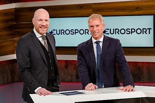 Eurosport Bundesliga-Team: Matthias Sammer (l.) & Jan Henkel (r.)