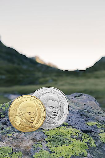 Mozart Coin USD 1oz Gold und 1oz Silber