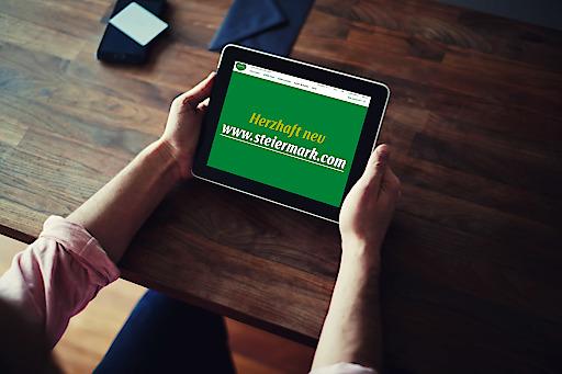 Die neue www.steiermark.com liefert den digitalen Herzschlag.
