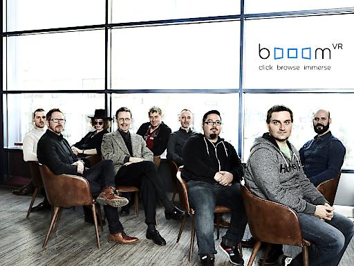 Gruppenfoto booomVR Team
