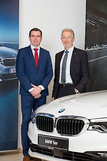 Chris Collet, CEO BMW Austria GmbH und Gerhard Wölfel, CEO BMW Motoren GmbH