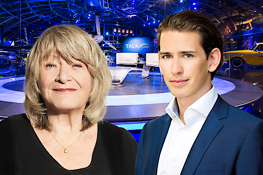 """Alice Schwarzer und Sebastian Kurz sind morgen zu Gast beim """"Talk im Hangar-7"""""""