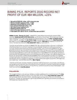 Eans News Bawag Psk Bank Für Arbeit Und Wirtschaft Und