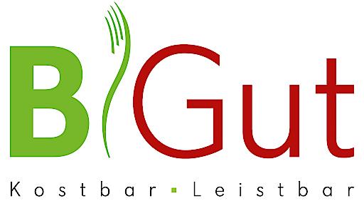 Logo zur neuen Produktlinie BiGut des Speisenzustellers / Wiener Rotes kreuz