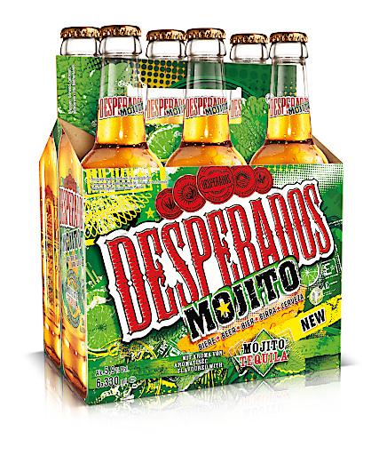 Neue Sorte Tequila Flavoured Beer Mit Desperados Mojito Kommt Die Karibik Nach Osterreich Brau Union Osterreich Ag 02 03 2017
