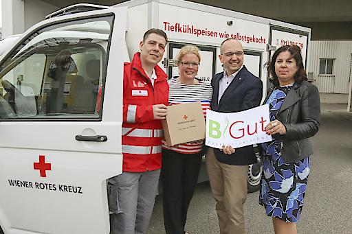 Mit der Marke BiGut bietet der Speisenzusteller des Wiener Roten Kreuzes eine neue Produktlinie für Bezieherinnen von Mindestsicherung an.