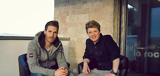 v.l.n.r.: Peter Cruseder aus St.Pantaleon-Erla und Paul Katzmayr aus Bad Leonfelden