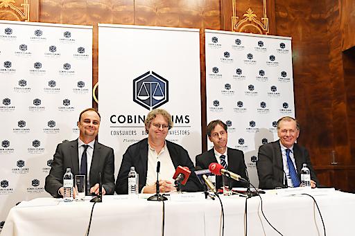 Gründungsmitglieder Oliver Jaindl, Peter Kolba, Manfred Biegler und der Vorsitzende des Investoren-Beirats Wilhelm Rasinger (v.l.n.r.)
