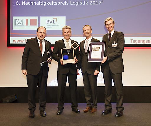 Gewinner des Nachhaltigkeitspreises Logistik 2017 ist die memo AG.