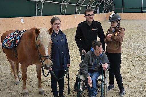 Die Pferde verleihen allen Kindern/Jugendlichen die selbe Mobilität.