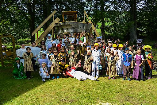 Wandelbühne St. Lambrecht - Theatercamp 2016