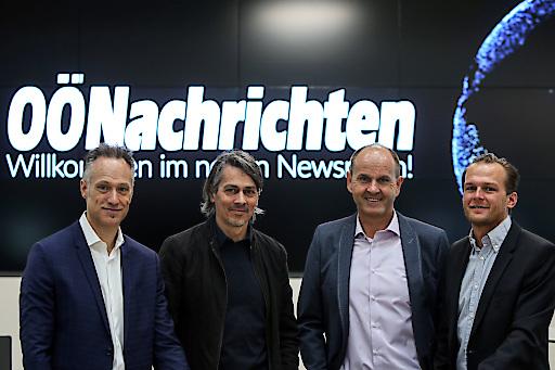 BILD zu OTS: Willkommen im neuen Newsroom der OÖNachrichten.