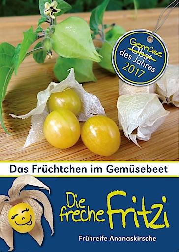 Die Freche Fritzi ist das Gemüse des Jahres 2017