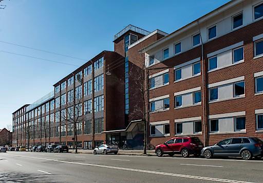 bild front des a o hotel and hostel kopenhagen a o hotels and hostels. Black Bedroom Furniture Sets. Home Design Ideas