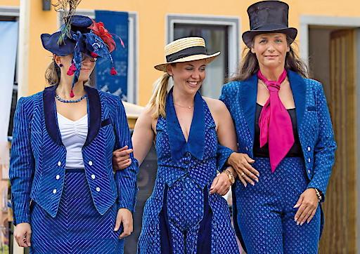 Am Sonntag, 7. Mai 2017 ist es wieder soweit, beim internationalen Färbermarkt treffen sich in der Mühlviertler Marktgemeinde Gutau Blaufärber, Leinenweber und Kunsthandwerker aus fünf Ländern Europas.