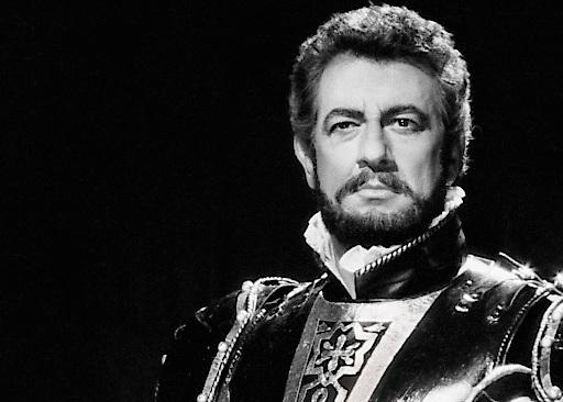 Plácido Domingo als Otello von Giuseppe Verdi, Wiener Staatsoper1987. Aus der Sammlung Erich Wirl. copyright Foto Fayer