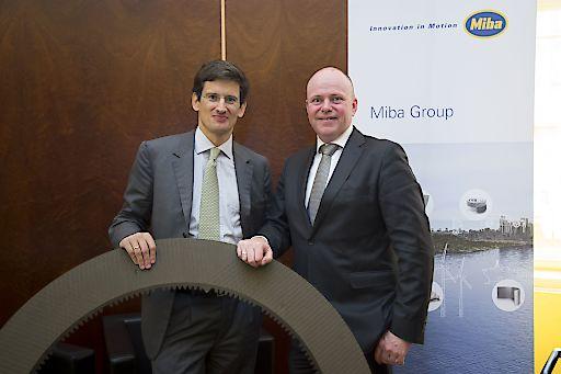 http://www.apa-fotoservice.at/galerie/9278 Bild zeigt: F. Peter Mitterbauer, CEO Miba AG und Markus Hofer, CFO Miba AG.