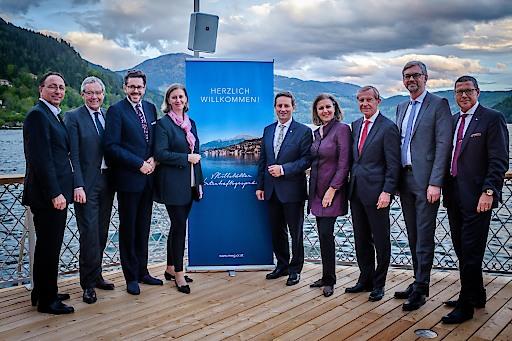 Staatssekretär Mahrer und Wirtschaftslandesräte bei neuem Standort-Format in Kärnten am Millstättersee