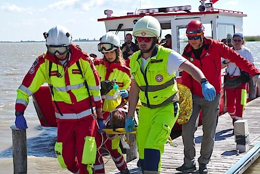 Samariterbund-Organisationen aus ganz Europa trainierten gemeinsam mit heimischen Organisationen den Ernstfall