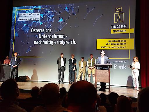 Verleihung des Nachhaltigkeitspreises