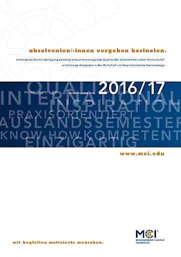 MCI-Absolventen vergeben Bestnoten