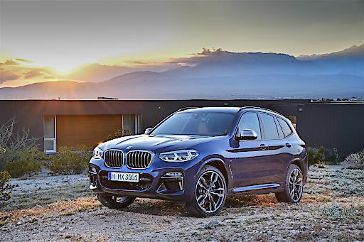 Der neue BMW X3 kombiniert robuste Offroad-Optik mit sportlichem Auftreten. Markteinführung ist im November 2017.