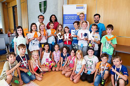faircheck und die Kleine Kinderzeitung organisierten gemeinsam mit der Gemeinde Stattegg die Veranstaltung fairLesen in Stattegg an der 50 Volksschulkinder teilnahmen.
