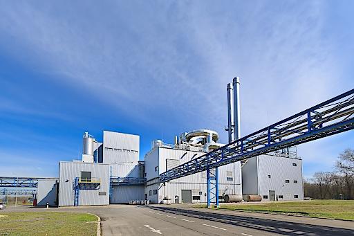 Weizenstärkekapazität in Pischelsdorf, Niederösterreich