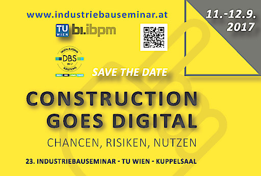 Save the date - 23. IBAUSE 2017