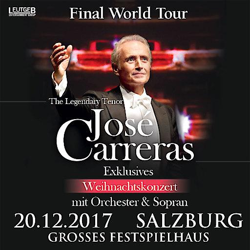 Artwork zur Veranstaltung - Jose Carreras 2017 in Salzburg