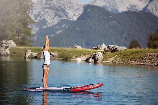 Das erste Ladies SUP-Camp im Salzburger Saalachtal im September