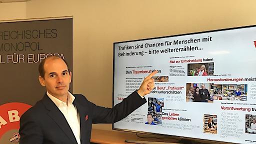 Mag. Hannes Hofer, Geschäftsführer der Monopolverwaltung