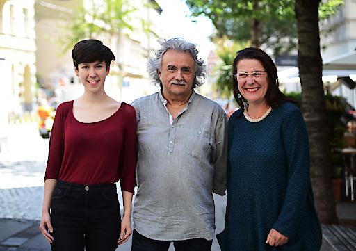 Flora Petrik, Mirko Messner und Ulli Fuchs ziehen als Spitzentrio für KPÖ PLUS in die Wahl