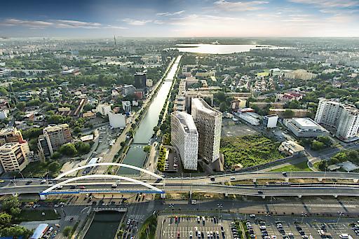 Die Orhideea Towers in Bukarest