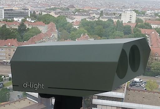 Beispiel eines AIR LASERs von D-Light