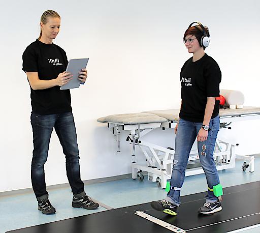 Forschungsfest Niederösterreich Projekt SoniGait