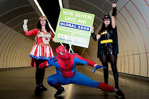 SuperheldInnen laden zum Umweltfestival in die Arena Wien