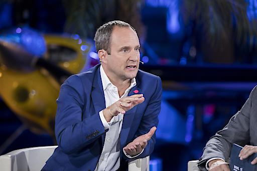 """Matthias Strolz beim """"Talk im Hangar-7 - Wahl-Spezial"""""""