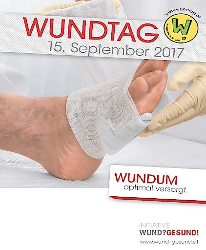 Plakat des Wundtages 2017 www.wundtag.at