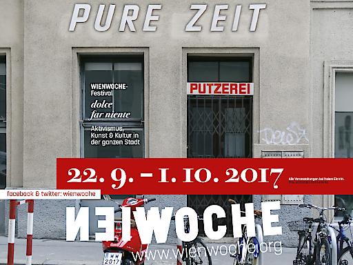 "Sujet WIENWOCHE 2017 DOLCE FAR NIENTE - ""Pure Zeit"""