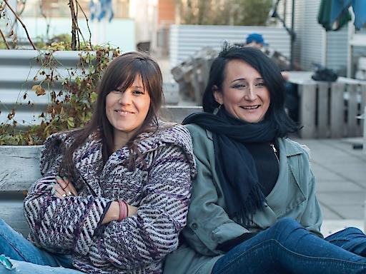 Ivana Marjanović und Nataša Mackuljak, das Leitungsteam von WIENWOCHE seit 2016