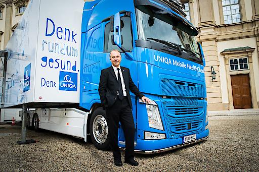 UNIQA Health Truck, 12.9.17, Palais Liechtenstein, 1090 Wien