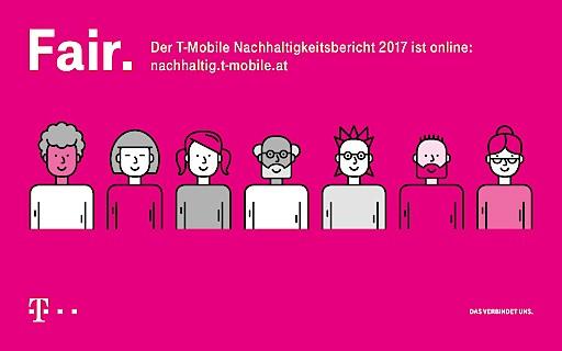 """""""Fairness ist das Ziel unseres nachhaltigen Handelns. Wir arbeiten intensiv daran, unseren Kunden, Umwelt, Mitarbeiterinnen und Mitarbeitern und der österreichischen Gesellschaft durch unsere Angebote, sichere und gute Arbeitsplätze, verlässliche Infrastruktur und durch unsere Steuerleistung fair zu sein. Mit unseren sozialen Initiativen wollen wir auch unserer Verantwortung als gute Bürger Österreichs gerecht werden"""", erklärte Andreas Bierwirth, CEO T-Mobile Austria, anlässlich der Veröffentlichung des Nachhaltigkeitsberichts."""