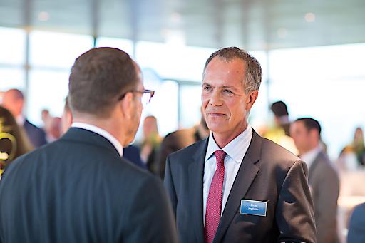 Geschäftsführer Ernst Kreihsler (CPI Immobilien) im Gespräch.