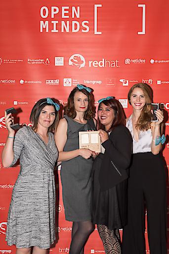 Open Minds Award GewinnerInnen