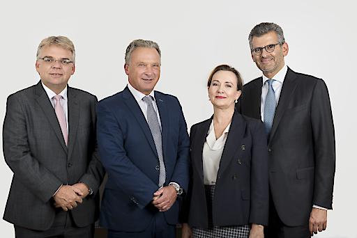 Das neue gewählte Präsidium des Österreichischen Rechtsanwaltskammertages (ÖRAK)